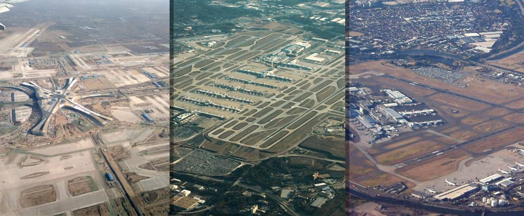Biggest Airports in the World, Arranged By Continent!