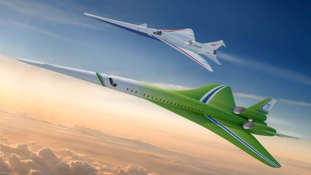 Lockheed-Martin Quiet Supersonic Technology Airliner