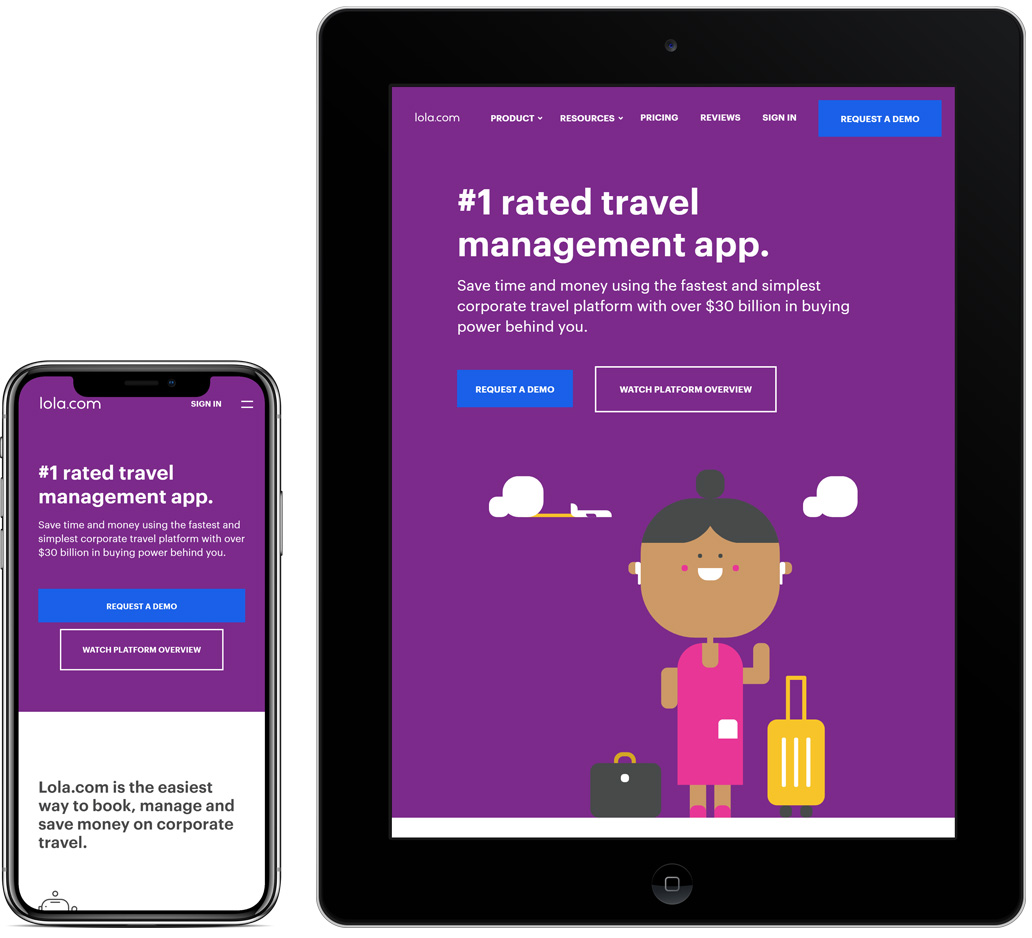 Lola Travel App