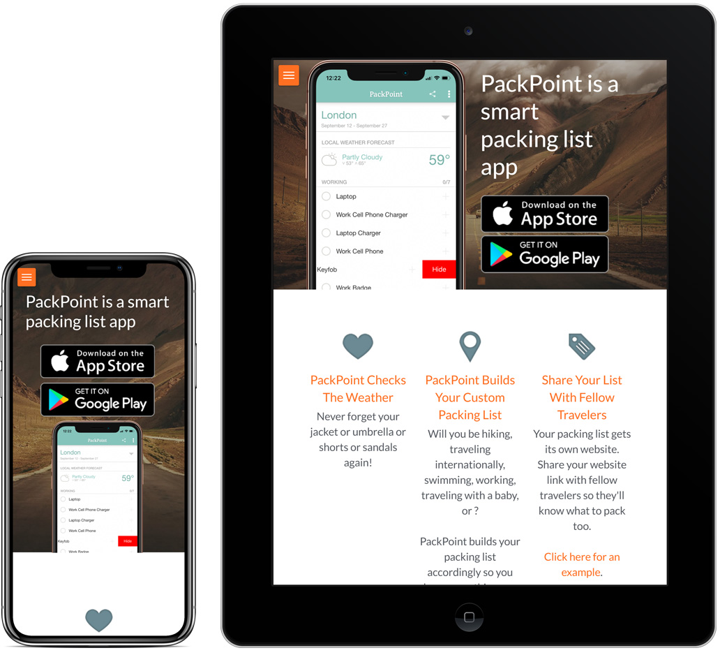 PackPoint App